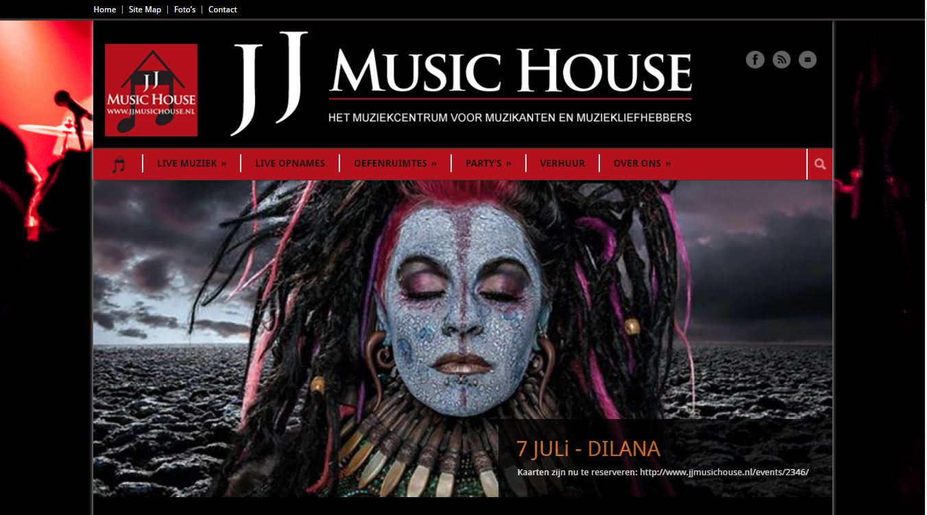 WordPress - JJ Music House